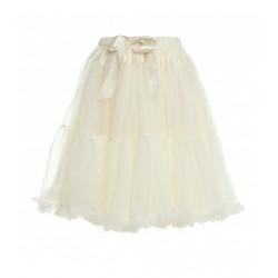 Womens petticoat in cream