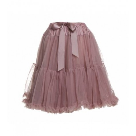 Womens petticoat in dusky pink