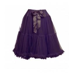 Womens petticoat in plum