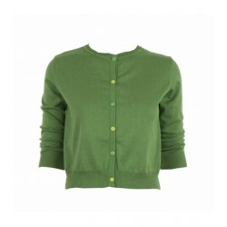 Adult's Classic Cardigan in Green