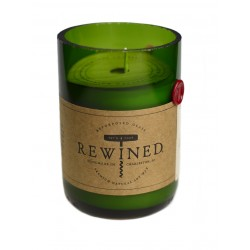 Candela in bottiglia di vino - Cabernet
