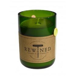 Candela in bottiglia di vino - Chardonnay