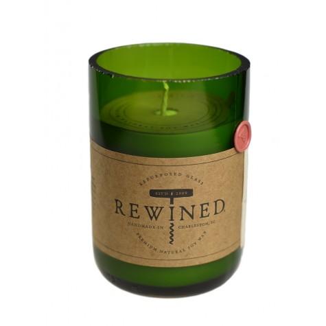 Candela in bottiglia di vino - Merlot