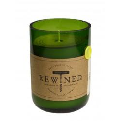 Candela in bottiglia di vino - Pinot Grigio