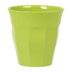 Bicchiere medio tinta unita - verde