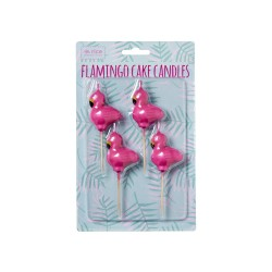Candeline per torta flamingo