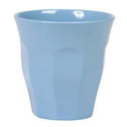 Bicchiere medio tinta unita - turchese