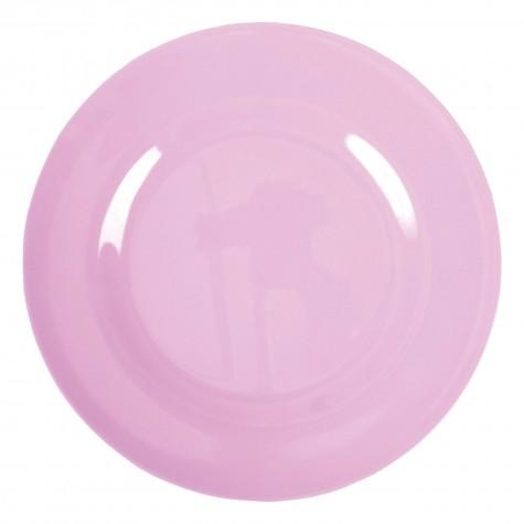 Piatto piano rosa