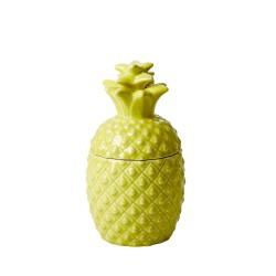 Vaso contenitore giallo