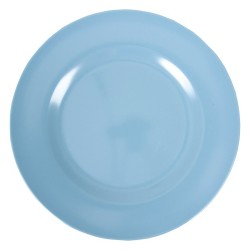 Round dinner plate - turquoise