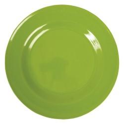 Piatto piano tinta unita - verde mela