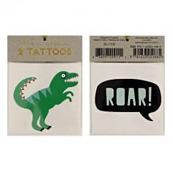 Tatuaggi temporanei, dinosauro e ROAR!