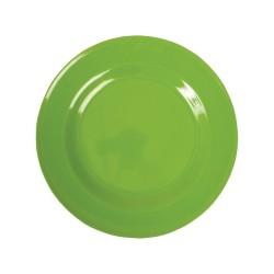 Piatto frutta tinta unita - verde mela