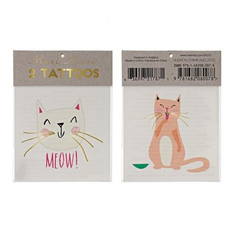 Tatuaggi temporanei, gattini