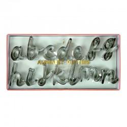 Stampini alfabeto