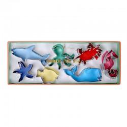 Stampini a forma di animali marini