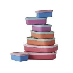 Set 8 contenitori per alimenti