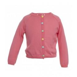 Cardigan bimba - rosa