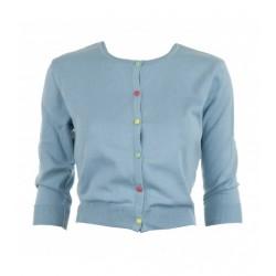 Cardigan donna - azzurro