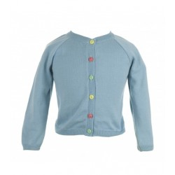 Cardigan bimba - azzurro