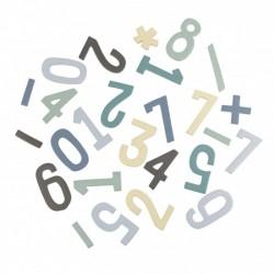 Numeri magnetici colorati