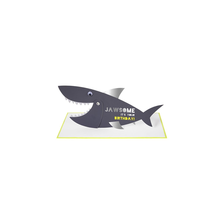 Shark Birthday Card Gallinasmilza