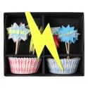 Kit per cupcakes supereroi