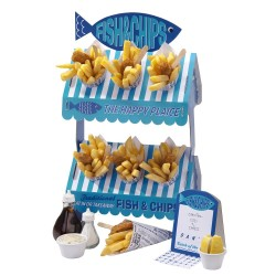 Stand per fish & chips