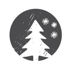 Timbro online natalizio