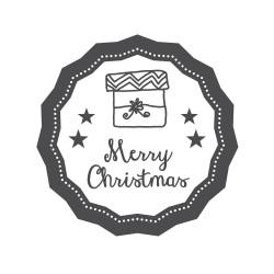 """Timbro """"Merry Christmas"""""""
