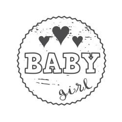 "Timbro ""Baby girl"""