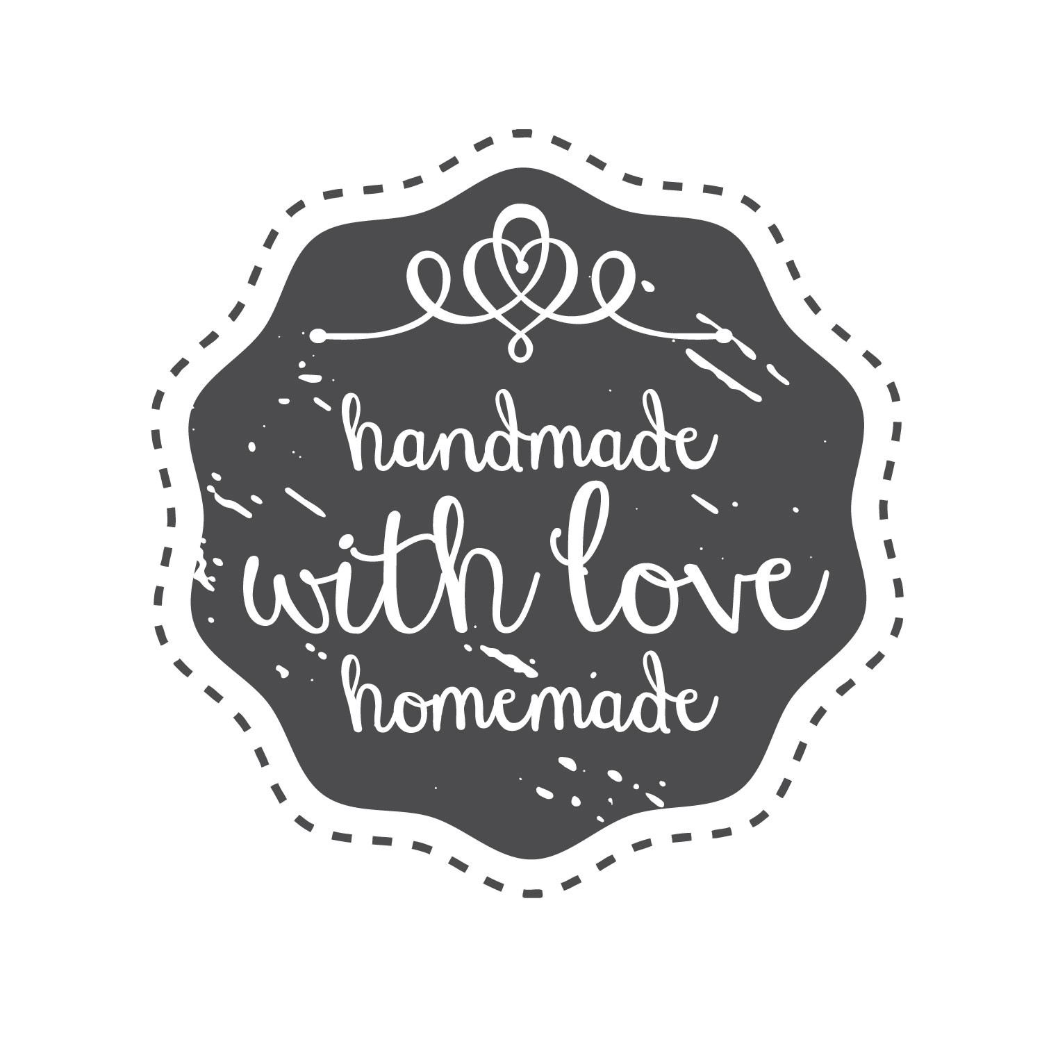 handmade with love stamp gallinasmilza