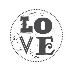"Timbro ""Love"""
