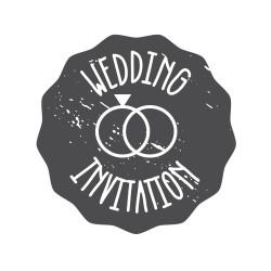 "Timbro ""Wedding invitation"""