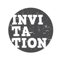 "Timbro ""Invitation"""