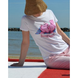 "T-shirt donna ""SunKissed"""