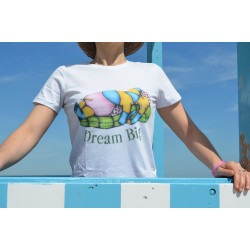 "T-shirt donna ""Dream Big"""