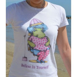 "T-shirt donna ""Believe in Yourself"""