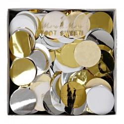 Coriandoli oro-argento