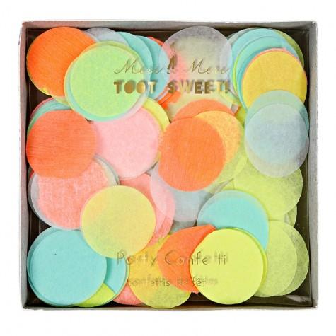 Coriandoli confetti colorati