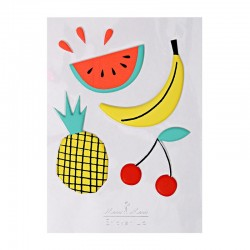 Stickers adesivi frutta