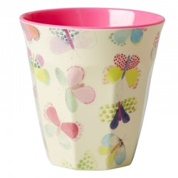 Melamine two tone cup