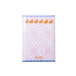 Notebook A5 fantasia coniglietti