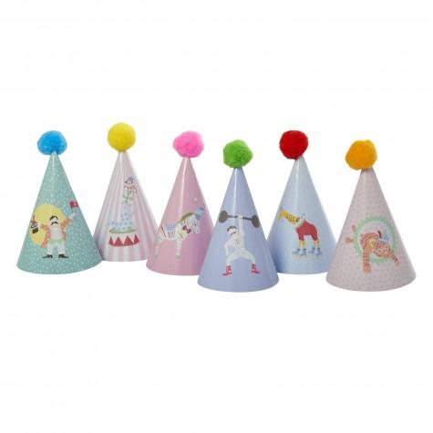 Cappellini da festa con pompom