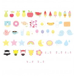 Set Kawaii per lampada Lightbox
