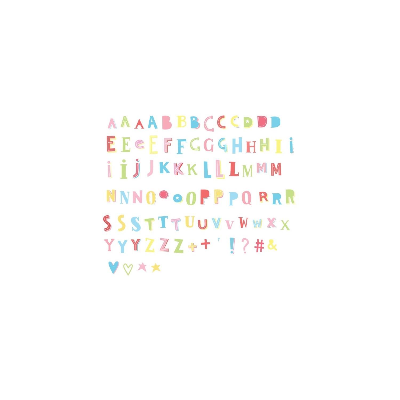 Lightbox Funky Letters Set Gallinasmilza