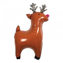 Palloncini natalizi a forma di renna