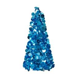 Alberello di Natale blu