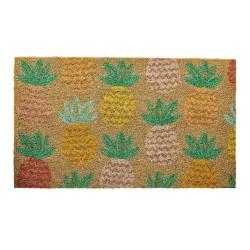Zerbino fantasia ananas colorati
