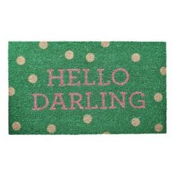 Zerbino verde a pois Hello Darling